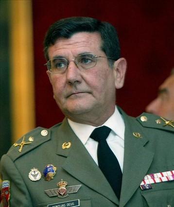 Destituido el militar que critic� la pol�tica soberanista de Mas