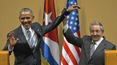 """Trump qualifica Castro de """"brutal dictador"""" i Obama de """"singular figura"""""""