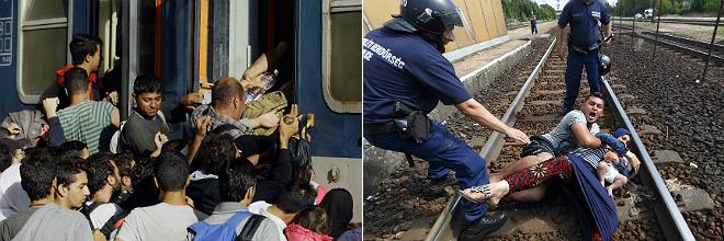 La UE insta ahora a los gobiernos a acoger a m�s de 100.000 refugiados