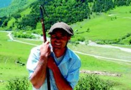 Una c�mera oculta capta un �s bru de prop al Pirineu