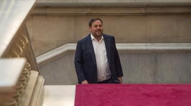 Junqueras niega haber influido en la destitución de 'consellers'