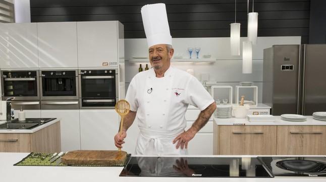 Karlos argui ano cocina por primera vez en directo for Cocina carlos arguinano