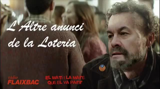 Mas i Rajoy protagonitzen l''altre' anunci de la loteria