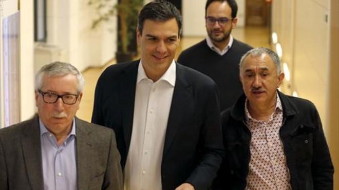El relevo en la cúpula del PSOE reanima la derogación de la reforma laboral