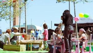 El evento SoundEat! se celebra en la plaza Leonardo Da Vinci.