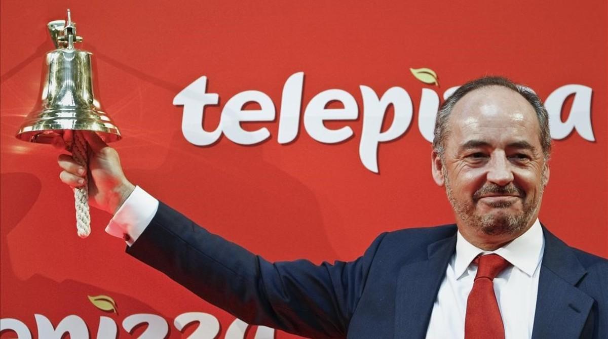 Telepizza pierde 19 millones de euros entre enero y junio for Telepizza 3 pisos