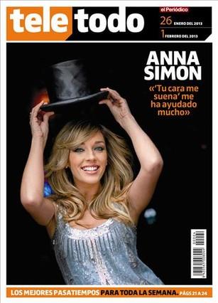 Anna Simon, la chica de las mil caras