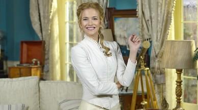 La actriz Laura Rozalén, que intrepreta a Elvira en la serie de TVE 'Acacias, 38'.