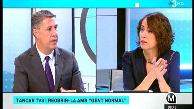 García Albiol, aspirant a crític de tele