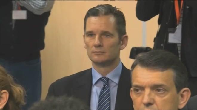 Urdangarin presenta anuncio de recurso contra la sentencia.