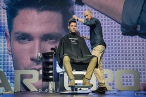 Vicenç Moretó, el millor barber del món.