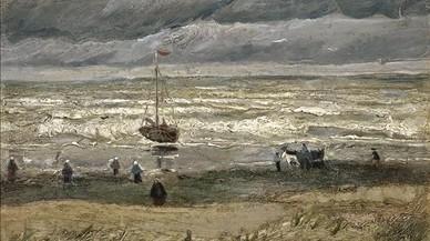 'Vista del mar en Scheveningen', de Vicent van Gogh.