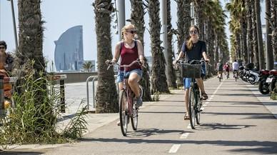 Barcelona estrenarà cinc carrils bici aquest mes
