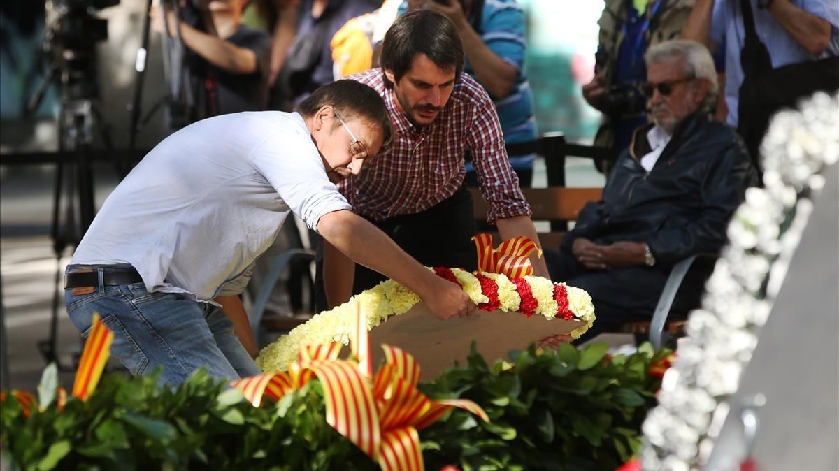 zentauroepp40060542 barcelona 11 09 2017 politica ofrendas florales al monument170911151122