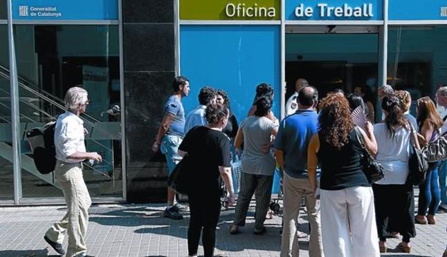 Las patronales y los sindicatos se unen contra los for Oficina de treball barcelona