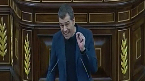 La intervencin de Toni Cant en el Congreso donde aseguraba que &#34;los animales no tienen derecho a la vida&#34;