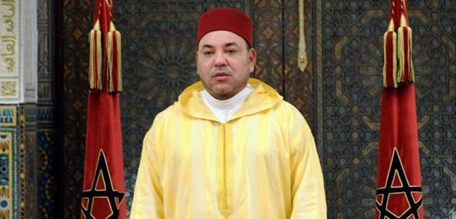 El rey de Marruecos, Mohamed VI, en julio del 2014.
