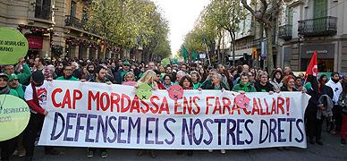 Manifestaci�n en Barcelona este s�bado contra la 'ley mordaza'