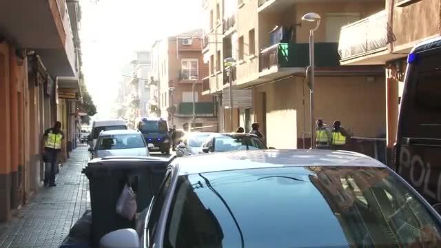 Im�genes de la operaci�n para desmantelar una c�lula yihadista facilitadas por el Ministerio del Interior.