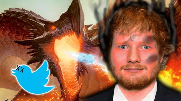 Vuelve Juego de Tronos y el Twitter de Ed Sheeran muere.