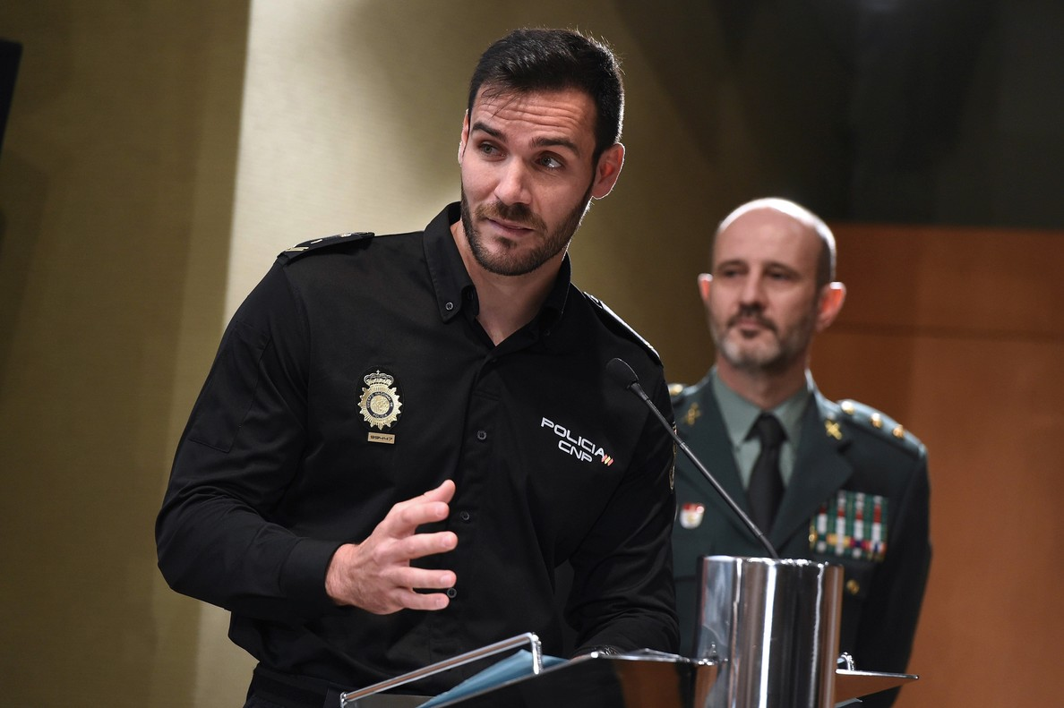 El Policía Nacional Saúl Craviotto