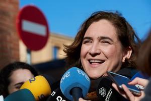 Ada Colau llama a acabar con la parálisis institucional en Cataluña
