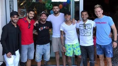 """Piqué treu ferro a les polèmiques fotos amb Neymar: """"Va ser una casualitat"""""""