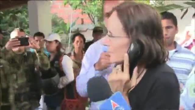 Alliberada a Colòmbia la periodista espanyola Salud Hernández-Mora