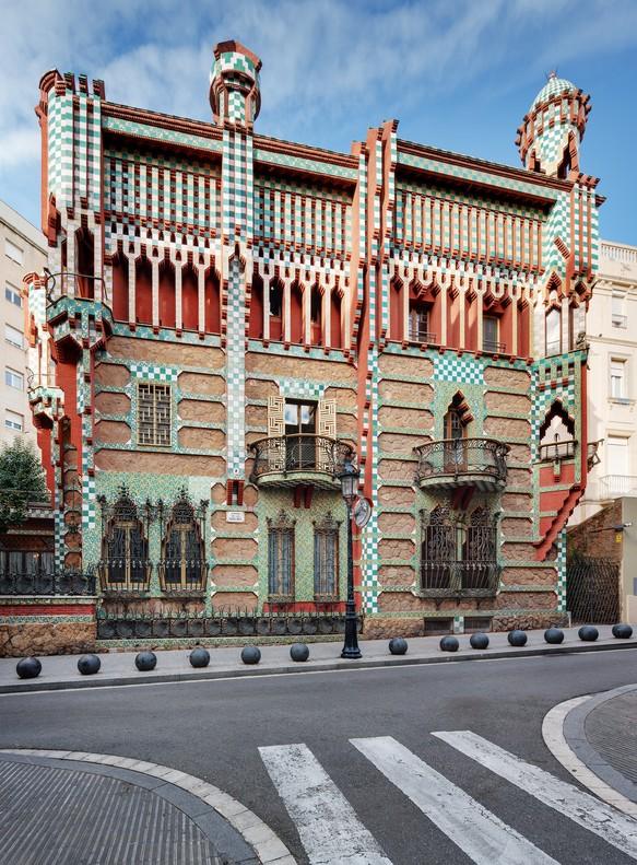 La Casa Vicens abre sus puertas en otoño