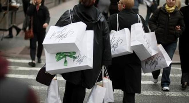 Compradoras en un anterior Black Friday en Nueva York.