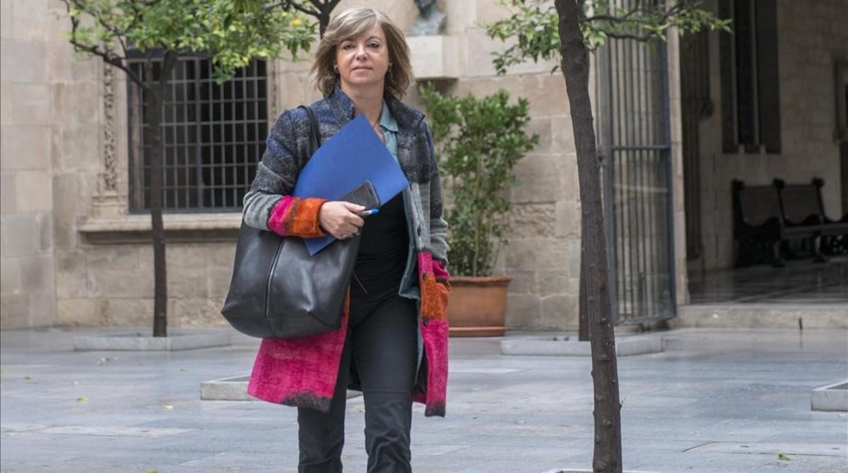 """Borràs acusa de """"manipulación barriobajera de la justicia"""" al Gobierno"""