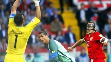 Cristiano Ronaldo acerca a Portugal a semifinales
