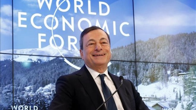 Draghi afirma que el BCE té determinació i capacitat d'actuació