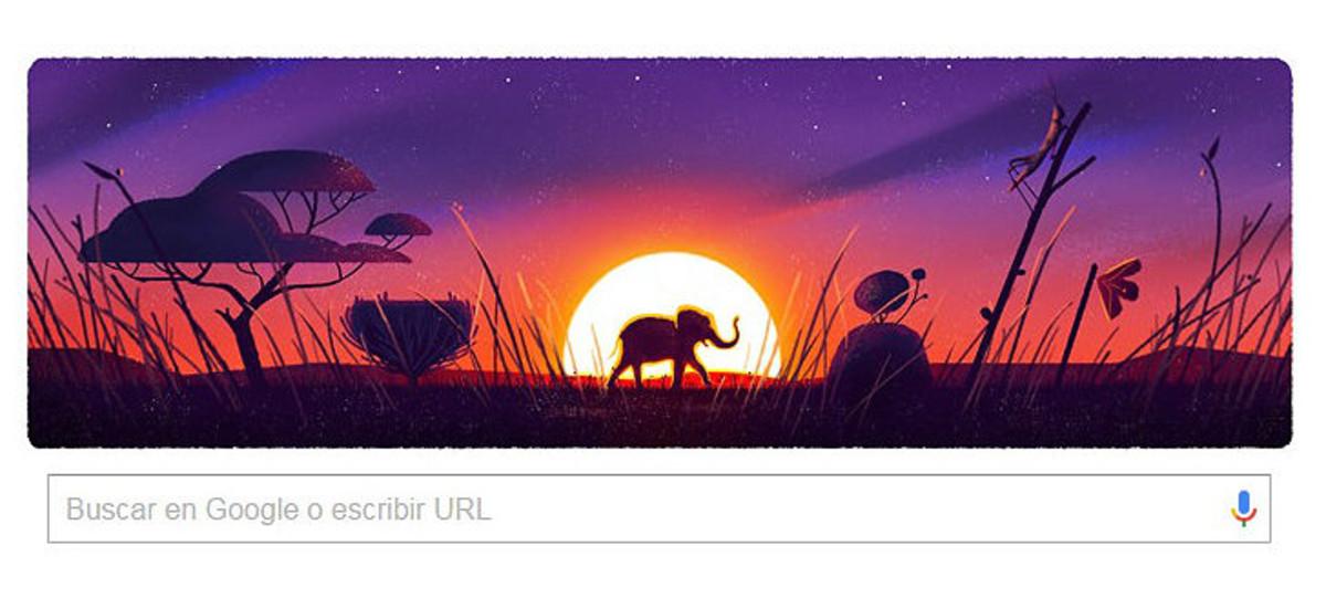 El Dia de la Terra inspira el 'doodle' de Google
