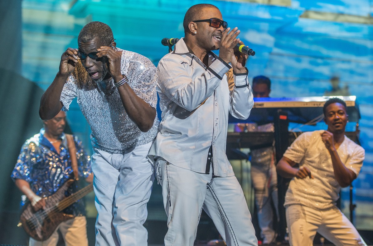KOOL  AND THE GANG en el Festival Jardins de Pedralbes