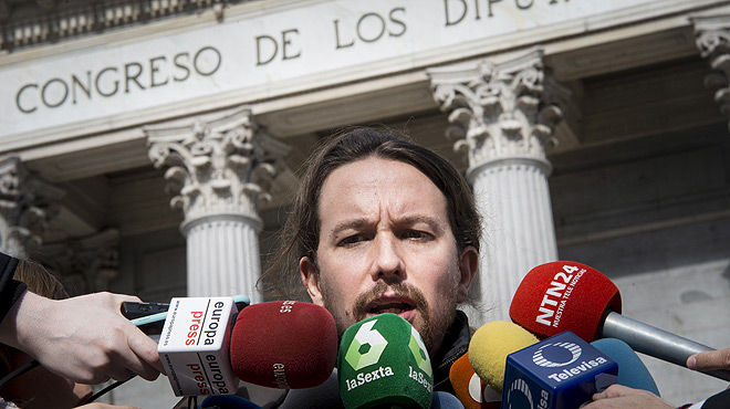 Iglesias i Rivera es tornen a enfrontar per la victòria de Trump