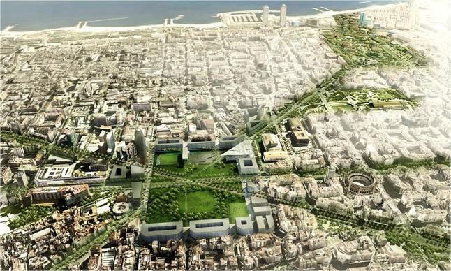 Trias presenta un nuevo proyecto para gl ries for El mercat de les glories