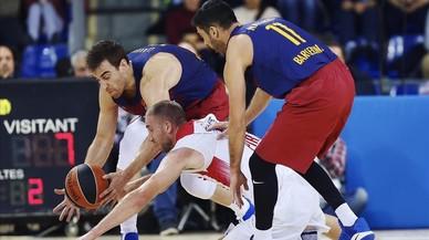 El Barça pateix un altre revés i es complica l'Eurolliga