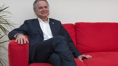 Joan Elias, rector de la Universitat de Barcelona (UB).