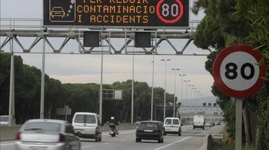 Baralla política per la castellanització dels senyals de trànsit
