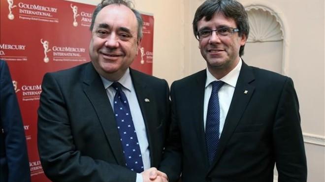 """Alex Salmond: """"No veig la manera com Catalunya podria seguir el nostre exemple"""""""