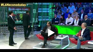 L'economista Juan Torres abandona 'La Sexta Noche' després de les acusacions d'Inda sobre Podem