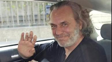 Jose Coronado, a su salida del hospital.