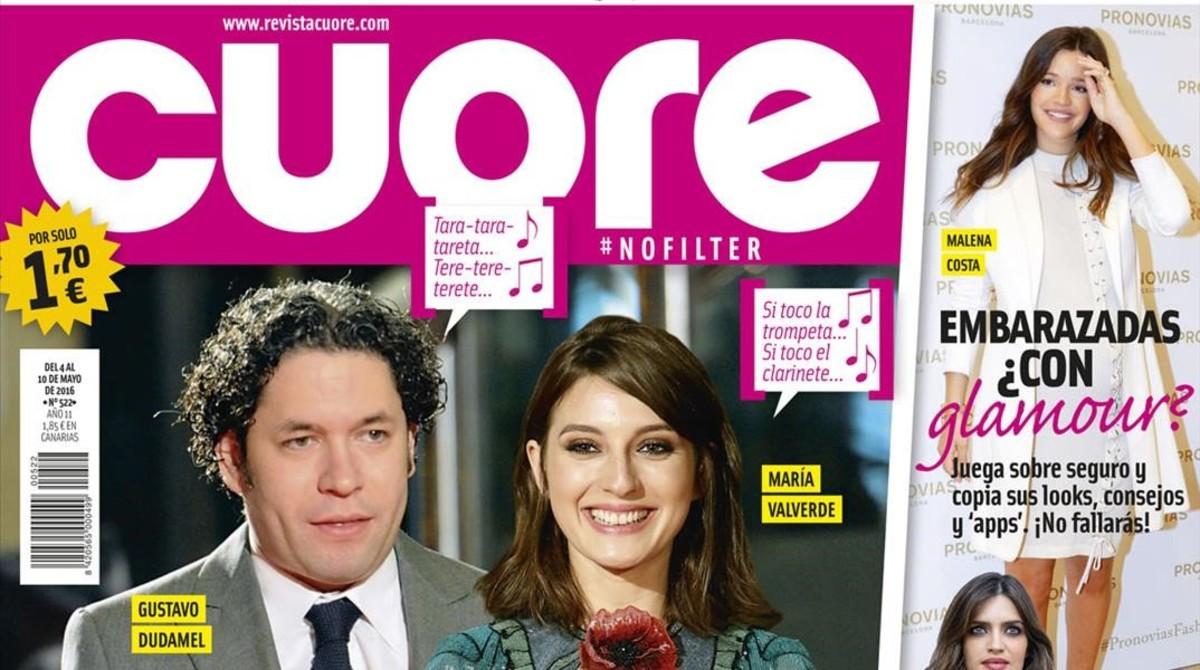 María Valverde y su nuevo novio, Gustavo Dudamel, protagonizan la ...