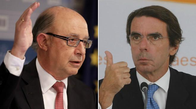 Montoro vs Aznar, pulles a dojo