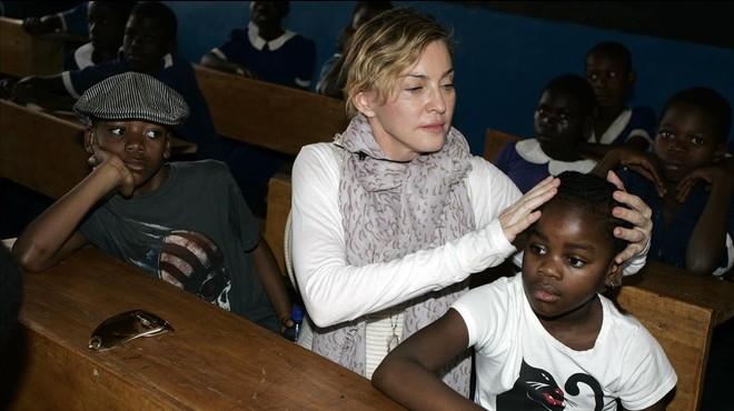 Madonna podria perdre la seva filla adoptiva Mercy James