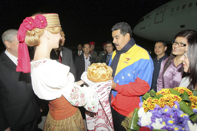 """Maduro: """"�Qu� se cree Rajoy, que los sudamericanos somos esclavos suyos?"""""""