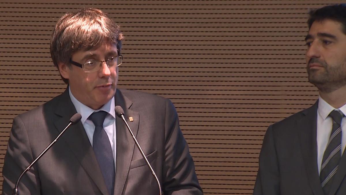 """Puigdemont: """"La Generalitat está preparada para un ciberataque"""""""