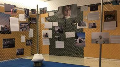 La biblioteca de Rubí acull una exposició fotogràfica que dona veu als refugiats