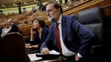 """Rajoy, sobre la no recuperación del 74% del rescate bancario: """"Por suerte, España no quebró"""""""
